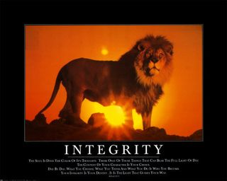 8601~Integrity-Posters