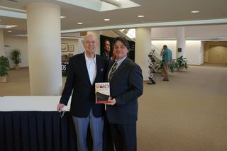 Mar 5 2013 SWBTS Riley Center after Dr. Vines received the book in his honor
