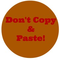 Dont copy and paste