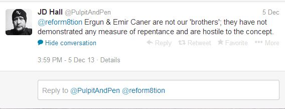 Emir and ergun are not Christian brothers