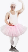 Men in ballett tutu