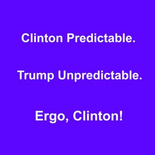 Clinton predictable