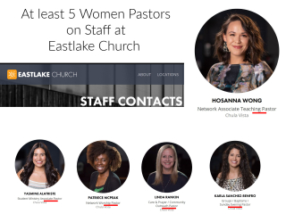Women Pastors at Eastlake Church