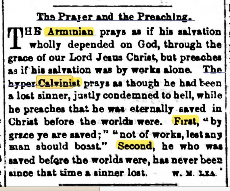 Prayer & Preaching